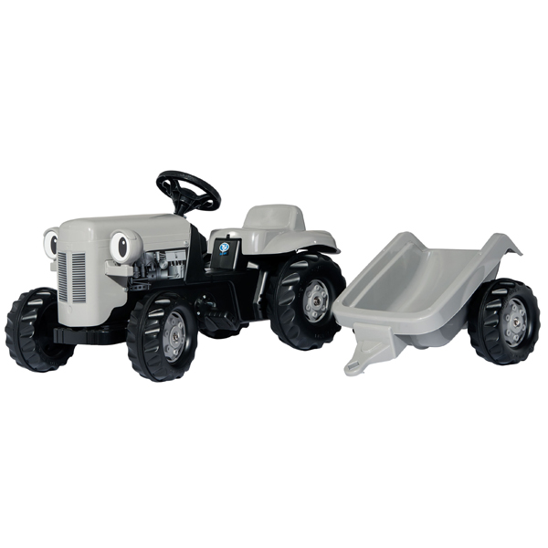 Traktor na pedale Rollykid Fergie sivi 014941 - ODDO igračke