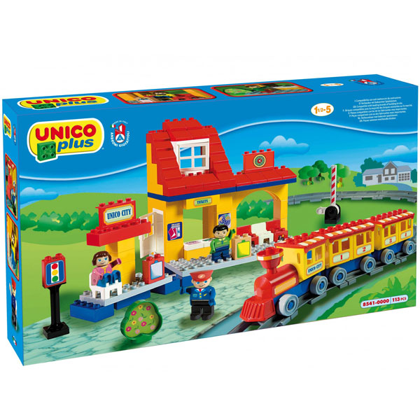 Kocke Voz 185419 - ODDO igračke