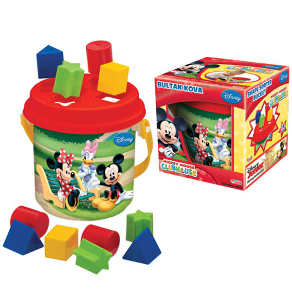 Didaktička kofica Mickey 019216 - ODDO igračke