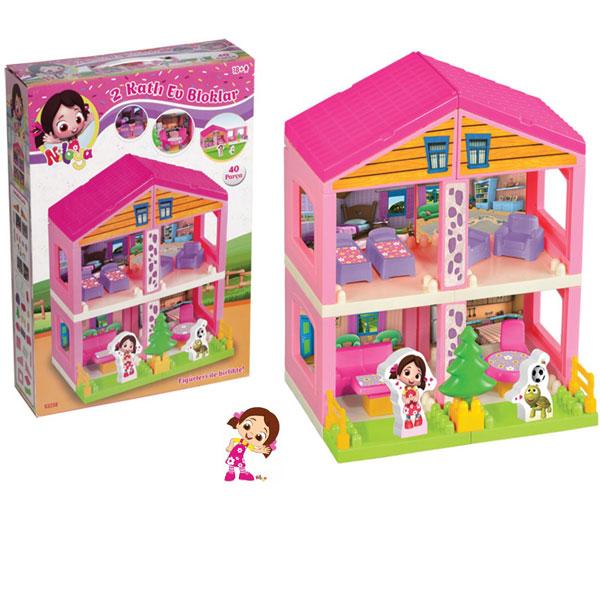 Kuća set DEDE 40pcs 032383 - ODDO igračke