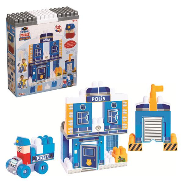 Kocke Policiska stanica DEDE 60pcs 032529 - ODDO igračke