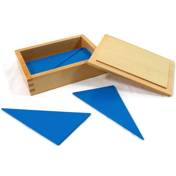 Konstruktivni plavi trouglovi Montesori HTS0258 - ODDO igračke