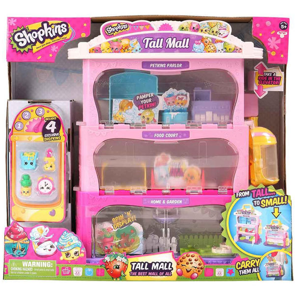 Shopkins set Tall Mall ME56180 - ODDO igračke