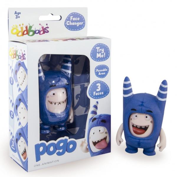 ODDBODS POGO – figurica 85mm (FACE CHANGER) OB42028 - ODDO igračke