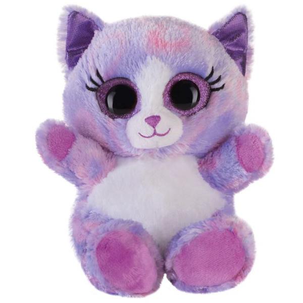 Bauer plišana maca ljubičasta 15cm  HB42411 - ODDO igračke