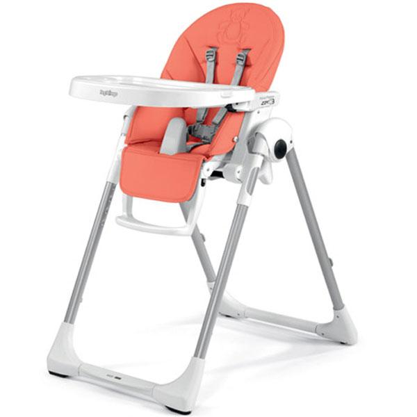 Stolica za hranjenje Prima Pappa Zero 3 Bear Coral Peg Perego P35100415784 - ODDO igračke