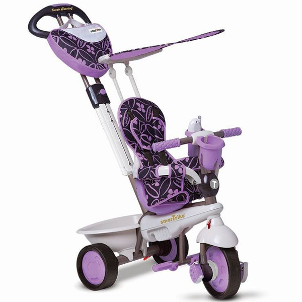 Tricikl Smart Trike Dream Team - Purple 1590700 - ODDO igračke