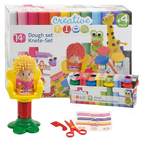 Creative Kids plastelin Set Hait Style 14pcs 27293 - ODDO igračke