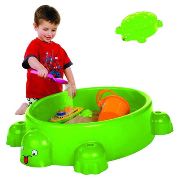 Peskarnik kornjača sa poklopcem 95,5x68x27cm 0743 - ODDO igračke