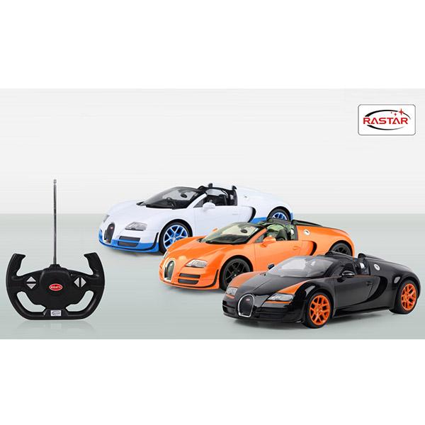 Autić na daljinsko upravljanje R/C 1/14 Bugatti Vyron Rastar RS07810 - ODDO igračke