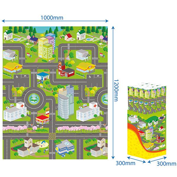 Puzzle Grad 1 PZ30166 - ODDO igračke