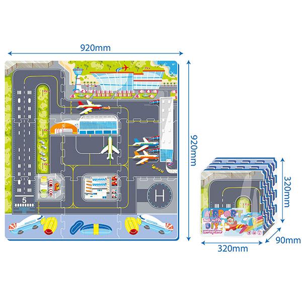 Puzzle Aerodrom PZ30173 - ODDO igračke