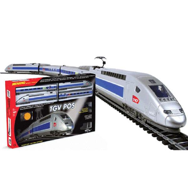 Vozovi Mehano  na baterije TGV POS T103 - ODDO igračke
