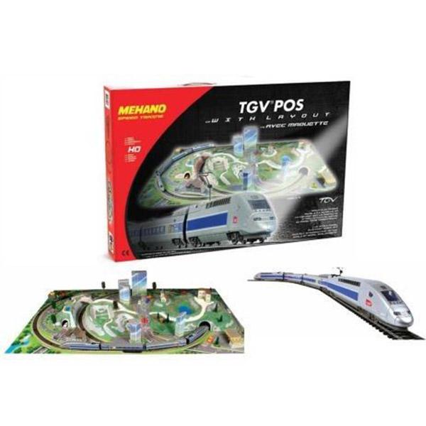 Mehano Voz TGV POS Maketa T111 - ODDO igračke