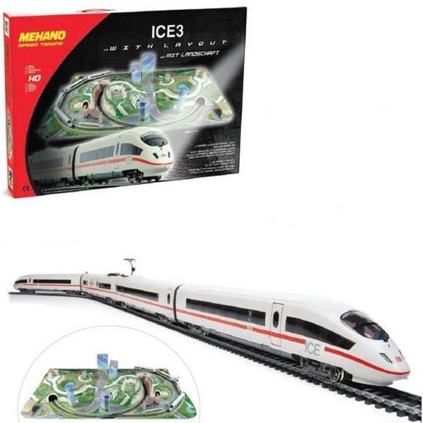 Vozovi Mehano Ice3 sa Maketom T737 - ODDO igračke