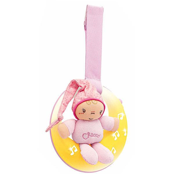 Chicco muzička Lampa Uspavani Mesec Roze 6330108 - ODDO igračke