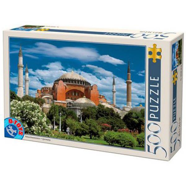 DToys puzzla Hagia Sophia, Istanbul 500pcs 07/50328-04 - ODDO igračke