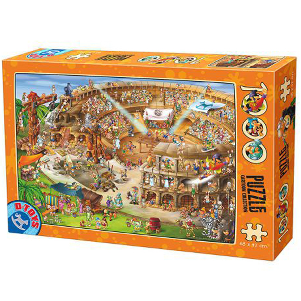 DToys puzzla Cartoon Collection Roman Amphitheatre 07/61218-10 - ODDO igračke