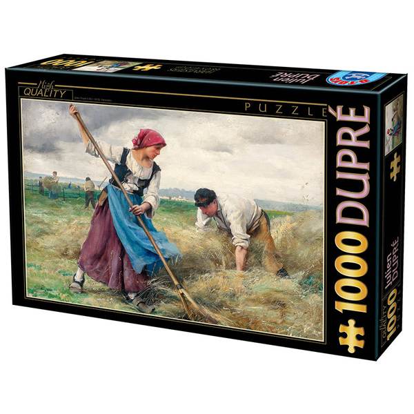 DToys puzzla Julien Dupre Harvesters 1000pcs 07/72788-01 - ODDO igračke