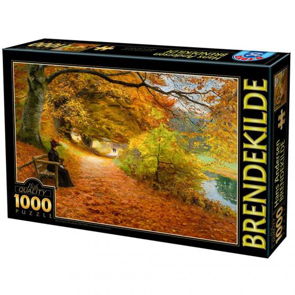 DToys puzzla Hans Andersen Brendekilde A Wooded Path in Autumn 1000pcs  07/72795-02 - ODDO igračke