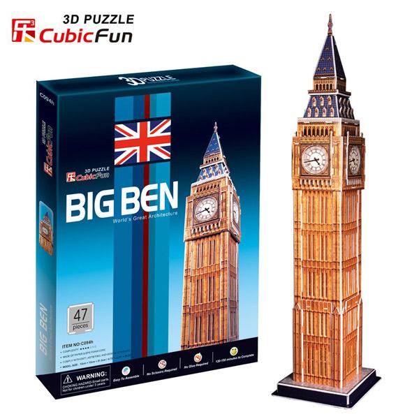 3D PUZZLA BIG BEN P174 - ODDO igračke