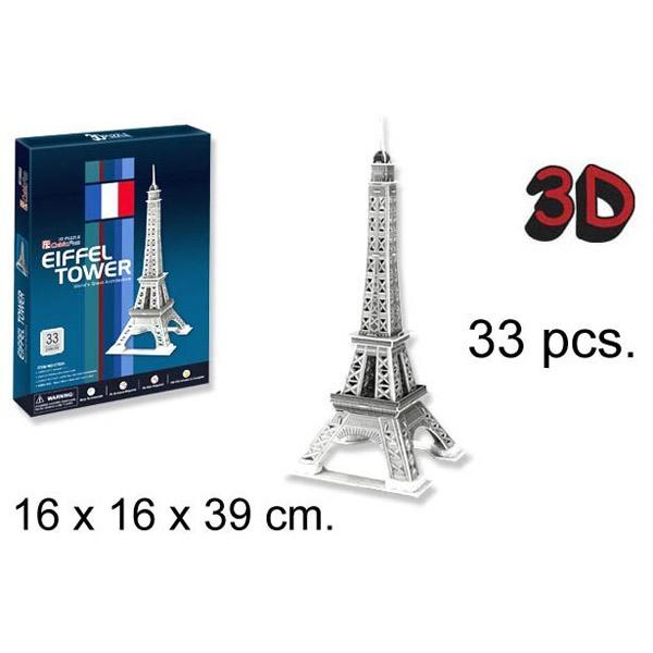 3D PUZZLA AJFELOV TORANJ P175 - ODDO igračke