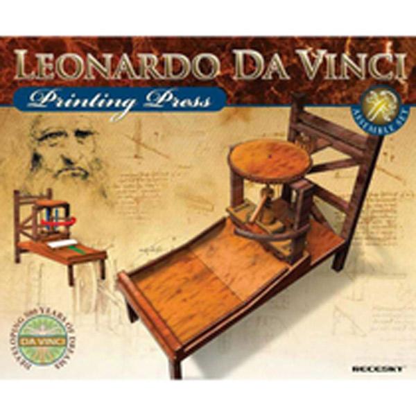 3D Leonardo Da Vinci Štamparija E275 - ODDO igračke