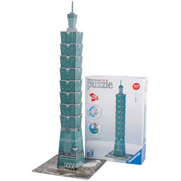 3D PUZZLA TAIPEI 01-125586 - ODDO igračke