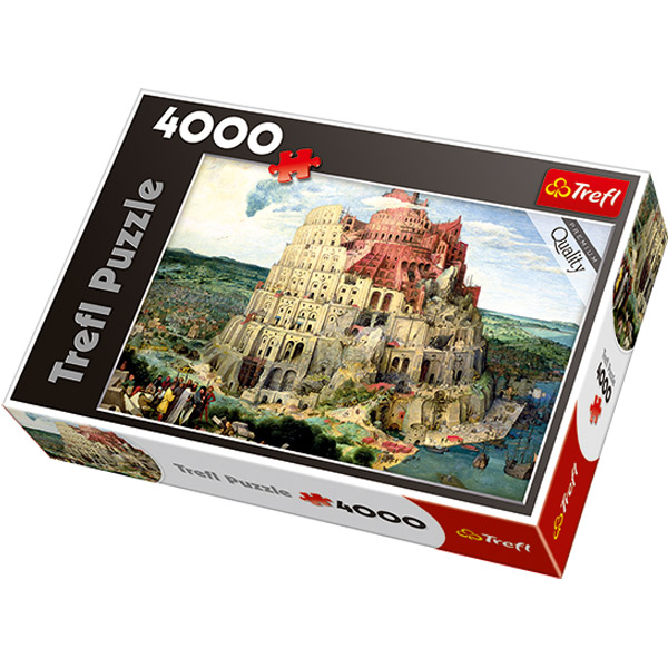 Trefl Puzzle Tower of Babel 4000 pcs 45001 - ODDO igračke