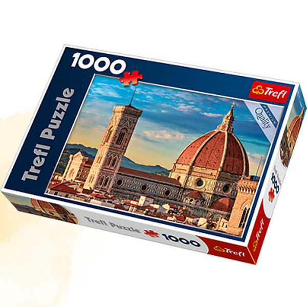 Trefl Puzzle Basilica di Santa Maria, Florence 1000 pcs 10381 - ODDO igračke