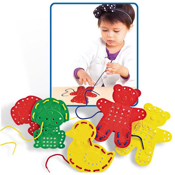 Pertlanje - 9 Figura Životinja 42010 - ODDO igračke