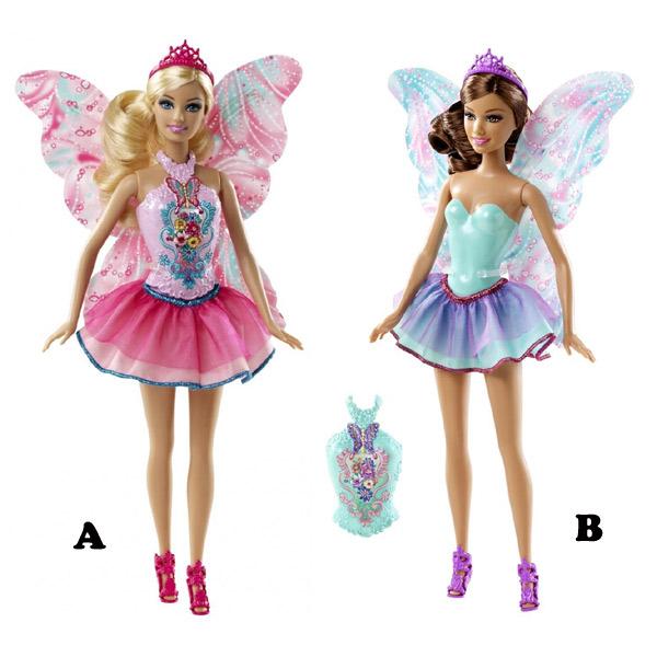 Barbie lutka vila CBR13-04477 - ODDO igračke