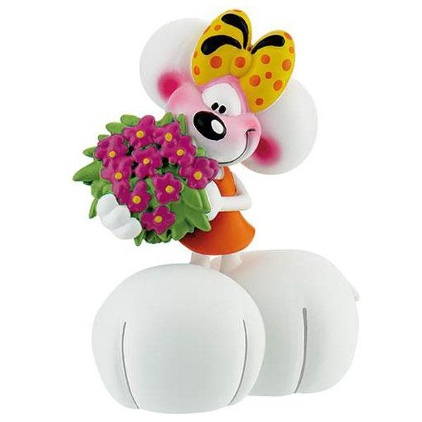 Mišica Diddlina sa Cvećem iz Crtanog Filma Diddl 43474 D - ODDO igračke