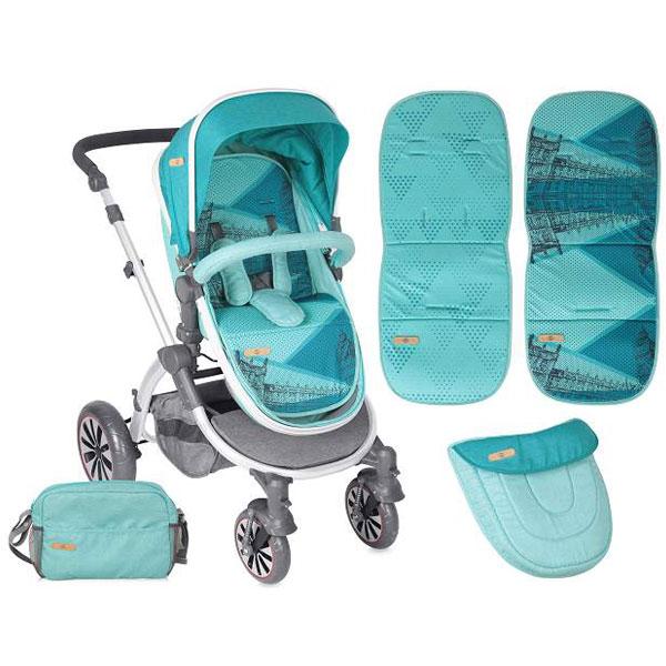 Kolica Aurora Aquamarine London Bertoni 10020921743 - ODDO igračke
