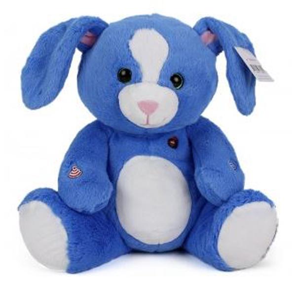 Pliš plavi zec 30cm 78009249 - ODDO igračke