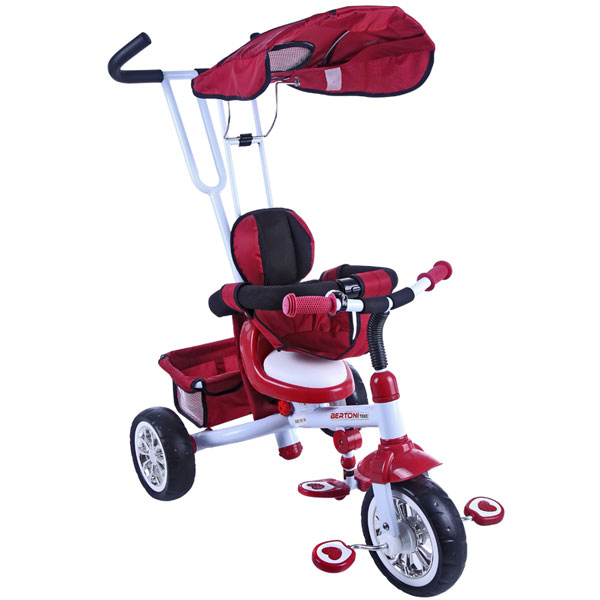 Dečiji Tricikl B301B Red & White Bertoni 10050101605 - ODDO igračke