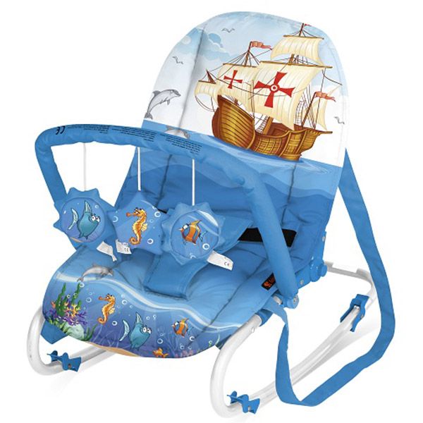 Bertoni Ležaljka Top Relax XL Blue Ship 10110091513 - ODDO igračke
