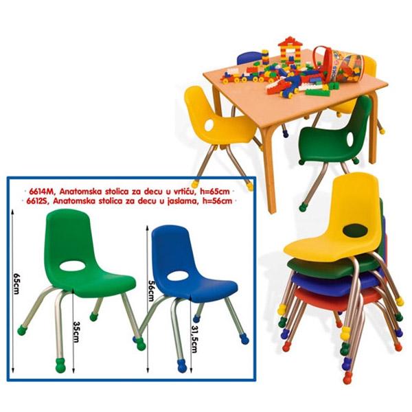 Anatomska Stolica 6612S - ODDO igračke