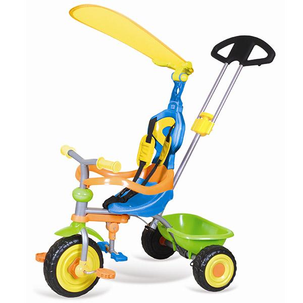 Tricikl sa ručkom i tendom Tiggi 66157 - ODDO igračke