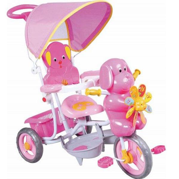 Tricikl sa ručkom i tendom Kuca propeler TS3201 984214 - ODDO igračke