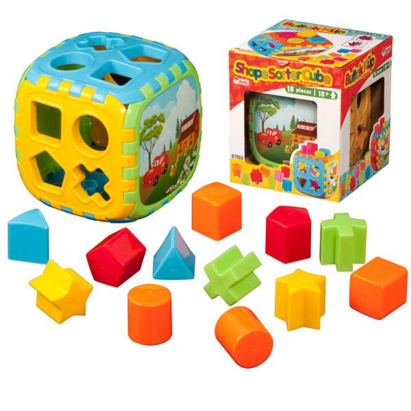 Didaktička kocka DEDE 019537 - ODDO igračke