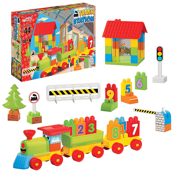 DEDE Železnička stanica 019421 - ODDO igračke