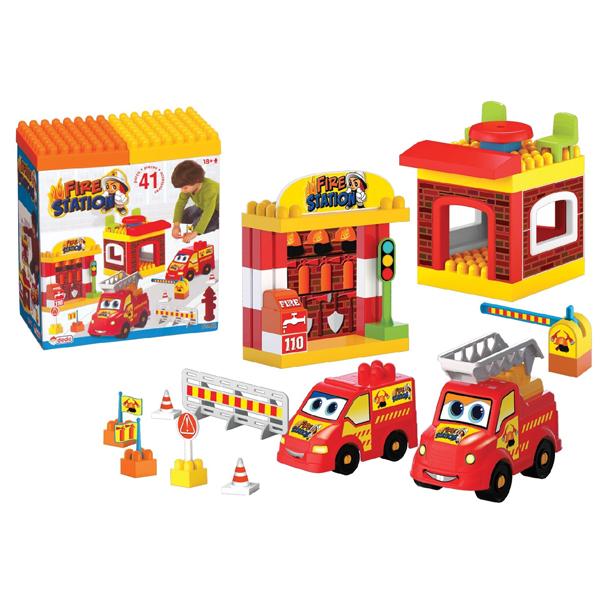 DEDE Vatrogasna stanica 019520 - ODDO igračke
