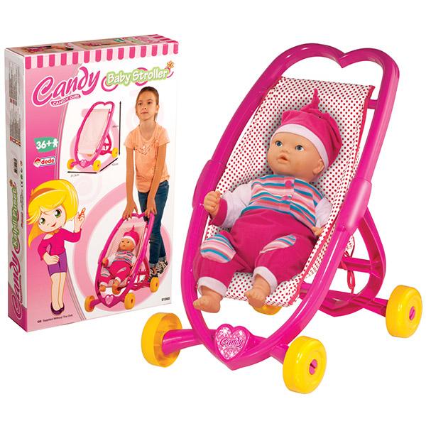 DEDE Kolica za lutku Candy 019605 - ODDO igračke