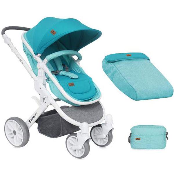 Kolica Luna Aquamarine Bertoni 10020801741 - ODDO igračke