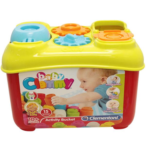 Mekane gumene kocke Clemmy Kutija sa oblicima CL17171 - ODDO igračke