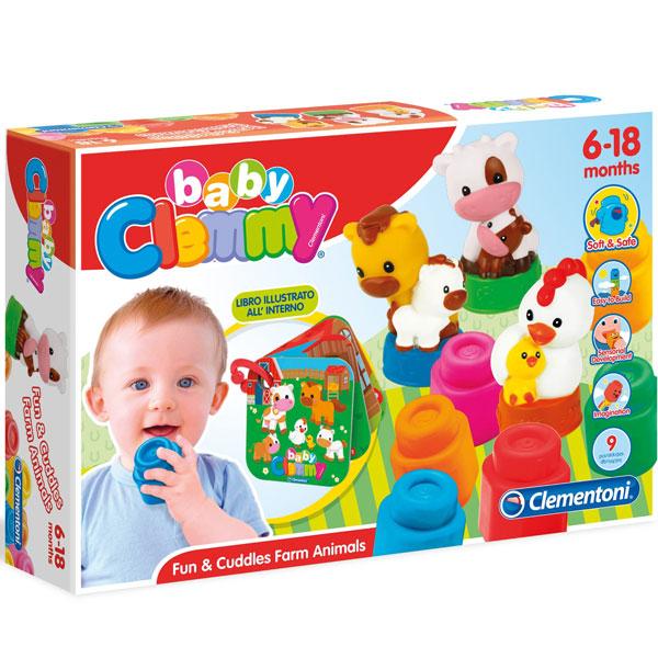 Mekane gumene kocke Clemmy Baby Farma CL17174 - ODDO igračke
