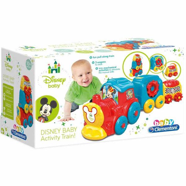 Mekane gumene kocke Clemmy Mickey Mouse Vozić CL17168 - ODDO igračke
