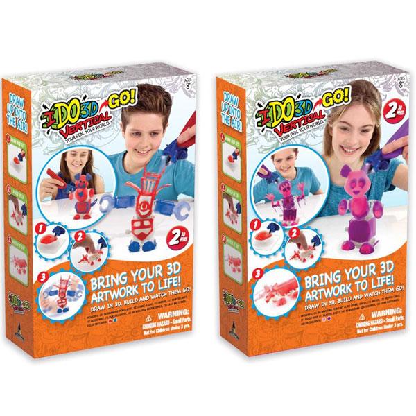 I DO 3D VERTIKAL GO sa 2 olovke RD165229 - ODDO igračke