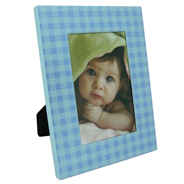 Ram 10x15cm karo plavi YG-AT63-4 - ODDO igračke